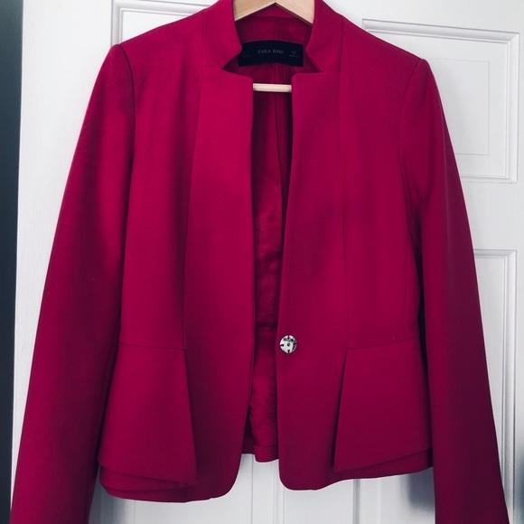 Zara Jackets & Blazers - Fuschia blazer